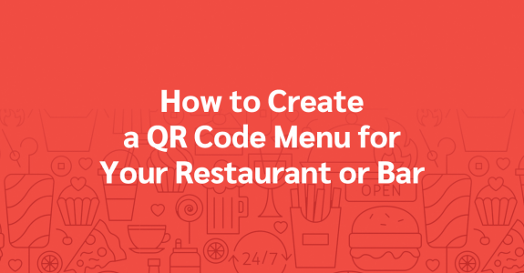 How to create QR code menus