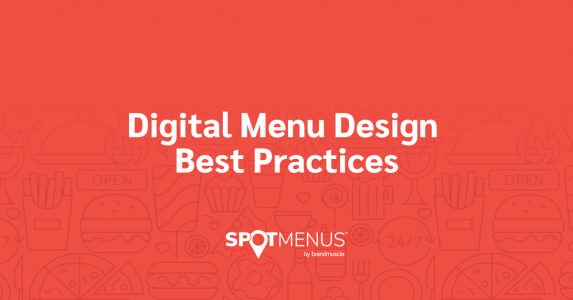 Digital Menu Design Best Practices